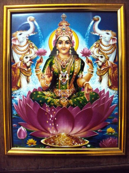 Lakshmi, prosperity, value and recognition