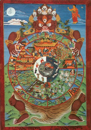Samsara: The continuous flow.