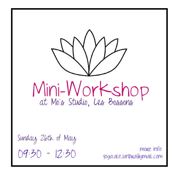Mini- Workshop at Les Bossons